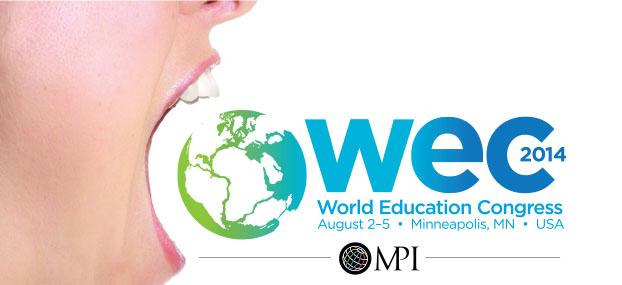 WEC   World Education Congress   August 2-5   Minneapolis, MN
